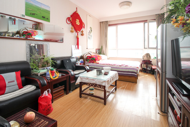 逸城山色公寓看房方便
